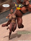 Amazons and monsters - Arena of Garnar