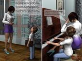 [Animatedincest] The piano teacher changes his life