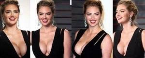 Kate Upton Brutal En Los Vanity Fair Oscar Party 2016