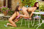 Daria Glover & Sunny Jay - Wine & Pussy Party