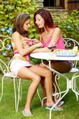 Daria Glover & Sunny Jay - Wine & Pussy Party u6q2naw1u2.jpg