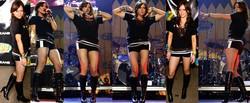 Hilary Duff Shorts Con Botas